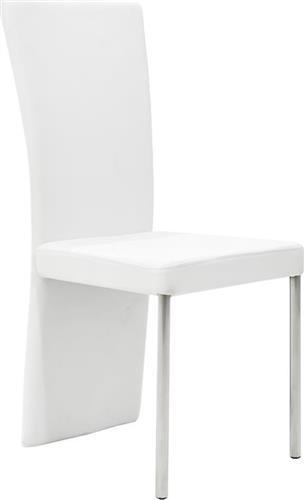 ΚαρέκλαPakoworldΚαρέκλα Tina Δερματίνη λευκό