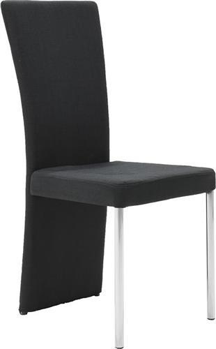 ΚαρέκλαPakoworldΚαρέκλα Tina υφασμάτινη μαύρο