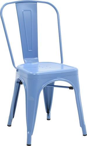 Καρέκλες Εξωτερικού ΧώρουPakoworldΚαρέκλα Utopia μεταλλική μπλε