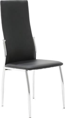 ΚαρέκλαPakoworldΚαρέκλα Vana Δερματίνη μαύρο