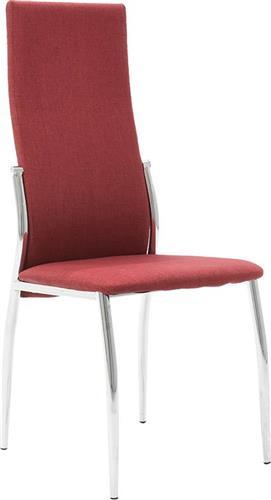 ΚαρέκλαPakoworldΚαρέκλα Vana υφασμάτινη κόκκινο