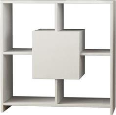 Pakoworld Κονσόλα Sider λευκό 80x30x80εκ