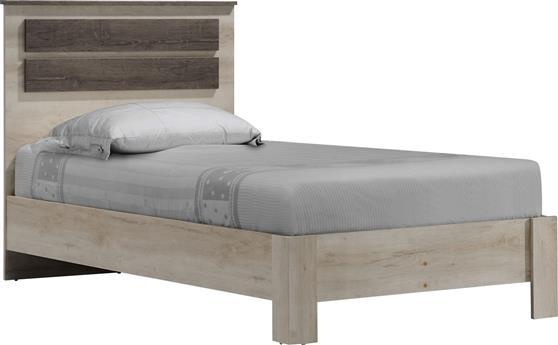 ΚρεβάτιαPakoworldΚρεβάτι μονό OLYMPUS castillo-toro 100x200εκ