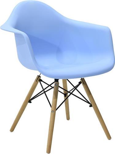 ΚαρέκλαPakoworldΠολυθρόνα Julita πολυπροπυλενίου μπλε