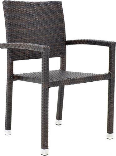 Καρέκλες Εξωτερικού ΧώρουPakoworldRenata Αλουμινίου-Wicker Cappuccino