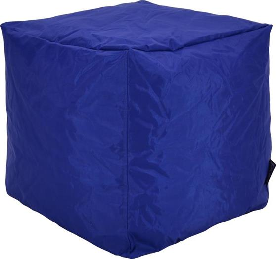 ΠουφPakoworldCube με Μπλε Αποσπώμενο Αδιάβροχο Κάλυμμα Σκαμπώ