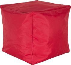 Pakoworld Cube με Κόκκινο Αποσπώμενο Αδιάβροχο Κάλυμμα Σκαμπώ