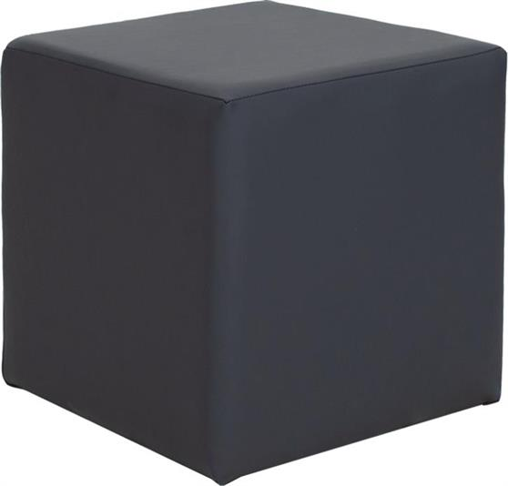 ΣκαμπόPakoworldCube με Pu Ανθρακί 40x40x40