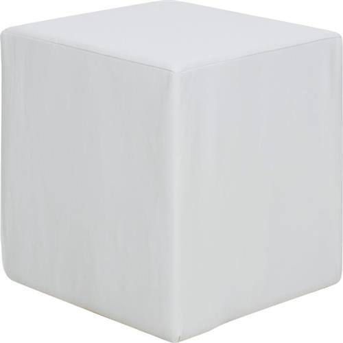 ΣκαμπόPakoworldCube με Pu Λευκό 40x40x40