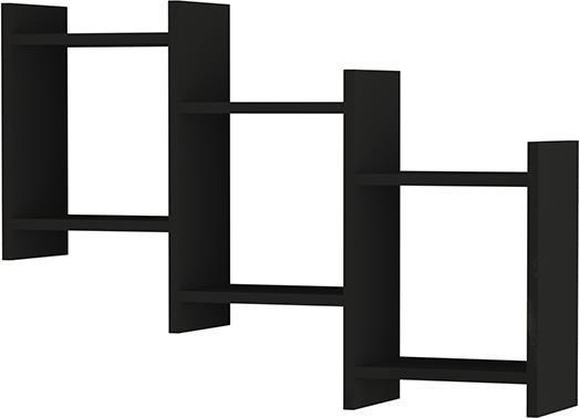 Ραφιέρες τοίχου & ΡάφιαPakoworldBatha Ανθρακί 91x20x64
