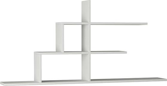 Ραφιέρες τοίχου & ΡάφιαPakoworldCizgi No 2 Λευκό 150x20x72,5