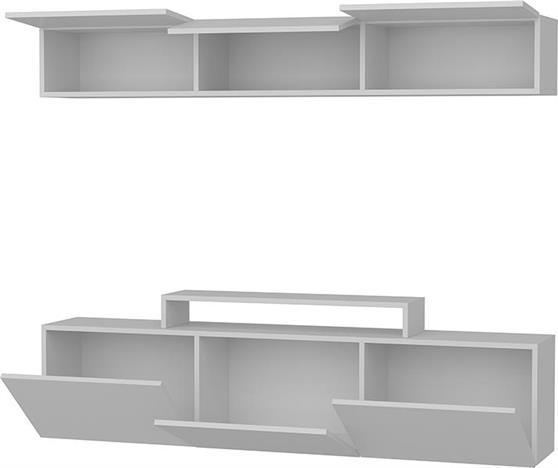 ΣύνθετοPakoworldLine Λευκό 180x37,4x40