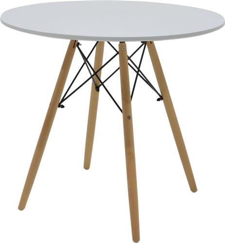 ΤραπέζιPakoworldΤραπέζι Julita Φ80 λευκό