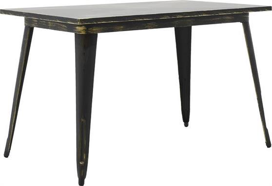 Τραπέζια Κήπου & ΒεράνταςPakoworldΜεταλλικό Utopia Anti-Black 120x70x75,5 (019-000046)