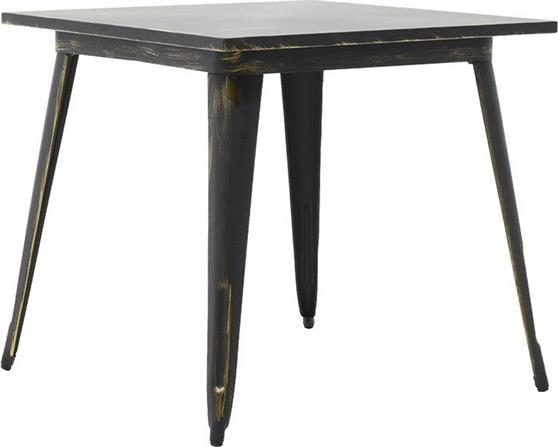 Τραπέζια Κήπου & ΒεράνταςPakoworldΤραπέζι μεταλλικό Utopia anti-black 80x80x75,5