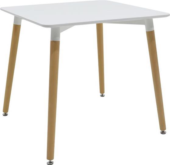 ΤραπέζιPakoworldΤραπέζι Natali λευκό 80x80x73