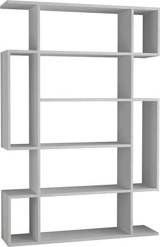 ΒιβλιοθήκεςPakoworldΒιβλιοθήκη MITO λευκό 108,5x25,5x161εκ