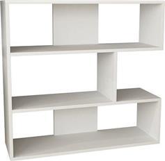 Pakoworld Βιβλιοθήκη Molly N.1 λευκό 94x30x94εκ