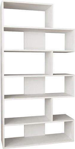 ΒιβλιοθήκεςPakoworldΒιβλιοθήκη Molly N.2 λευκό 94Χ30Χ178,5εκ