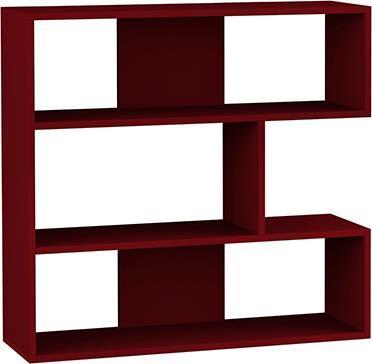 ΒιβλιοθήκεςPakoworldΒιβλιοθήκη Molly No1 σκούρο κόκκινο 94x30x94εκ