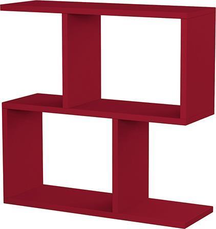 ΤραπεζάκιPakoworldHomemania Σκούρο Κόκκινο 60x20x60 Βοηθητικό