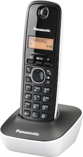 Ασύρματο ΤηλέφωνοPanasonicKX-TG1611GRW Λευκό