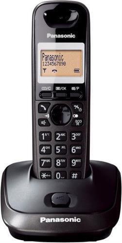 Ασύρματο ΤηλέφωνοPanasonicKX-TG2511GRT Μαύρο Τιτανίου