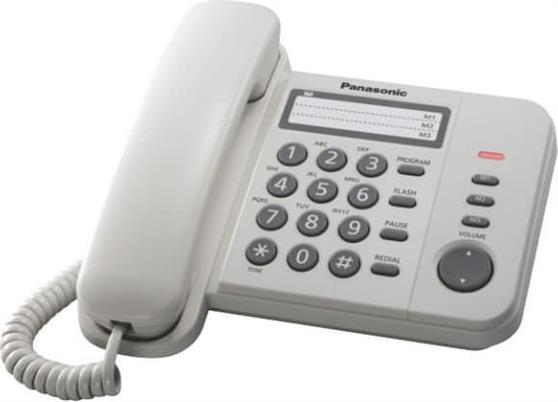 ΤηλέφωνοPanasonicKX-TS520EX2W Λευκό