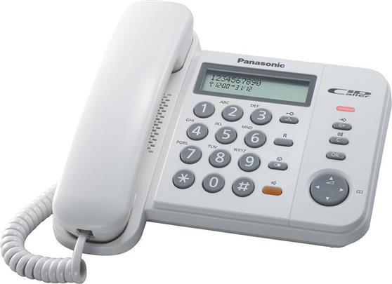 ΤηλέφωνοPanasonicKX-TS580EX2W Λευκό