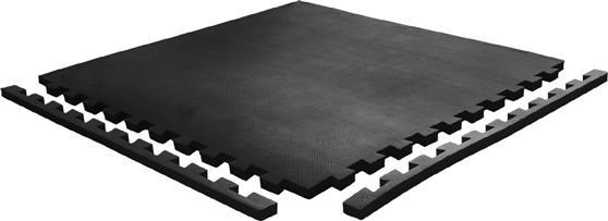 ΣτρώμαPegasusPuzzle EVA Set 2cm 1 τμχ Μαύρο B 40903-20