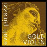 Pirastro Εvah Pirazzi Gold E Steel Μedium Βιολιού (Mπίλια)