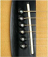 Planet Waves PWPS 1 από έβενο ακουστικής κιθάρας