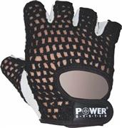 Power System Basic Γάντια γυμναστικής Κοφτά PS-2100 S Μαύρο