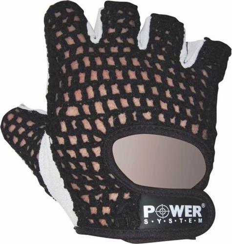 Γάντια ΠροπόνησηςPower SystemBasic Γάντια γυμναστικής Κοφτά PS-2100 S Μαύρο