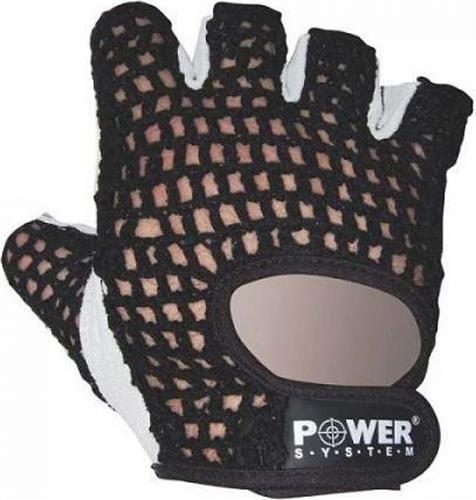 Γάντια ΠροπόνησηςPower SystemBasic Γάντια γυμναστικής Κοφτά PS-2100 L Κόκκινο