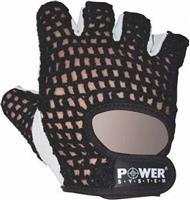 Power System Basic Γάντια γυμναστικής Κοφτά PS-2100 M Κόκκινο