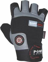 Power System Easy Grip Γάντια γυμναστικής Κοφτά PS-2670 M Μαύρο/Γκρι