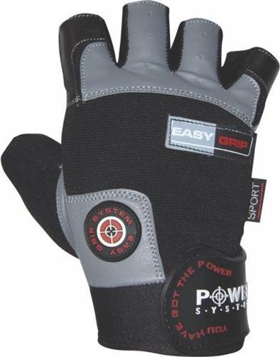 Γάντια ΠροπόνησηςPower SystemEasy Grip Γάντια γυμναστικής Κοφτά PS-2670 XL Μαύρο/Γκρι