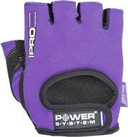 Power System Pro Grip Γυμναστικής Γυναικεία Κοφτά PS-2250 Large Μωβ