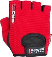 Power System Pro Grip Γυμναστικής Γυναικεία Κοφτά PS-2250 Small Κόκκινο