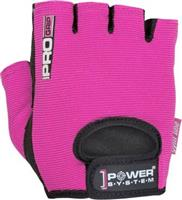Power System Pro Grip Γυμναστικής Γυναικεία Κοφτά PS-2250 Small Ροζ