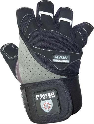 Γάντια ΠροπόνησηςPower SystemRaw Power PS-2850 M Μαύρο/Γκρι