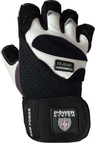 Γάντια ΠροπόνησηςPower SystemRaw Power PS-2850 XL Λευκό/Γκρι