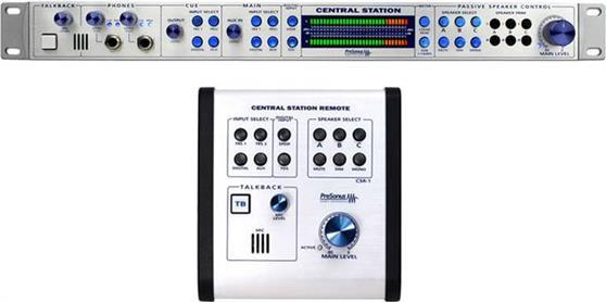 Επεξεργαστές Ηχείων StudioPresonusCentral Station Plus Monitor Controller