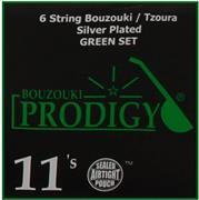 Prodigy Green 11s Xορδές 3χορδου Μπουζουκιού/ Tζουρά