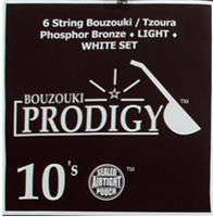 Prodigy White 10s Xορδές 3χορδου Μπουζουκιού/ Tζουρά