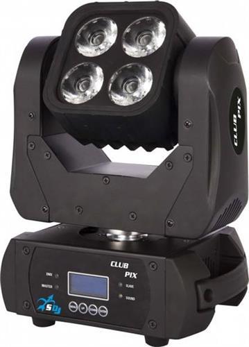 LED Κινητή ΚεφαλήProelCLPIX 4x10W RGBW