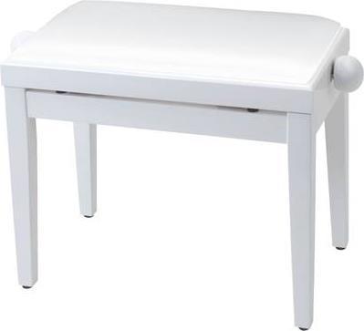 Κάθισμα ΠιάνουProelKPROEL PB85SSWWH Ρυθμιζόμενο Λευκό Ματ
