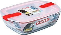 Pyrex Cook & Heat 1.1L 215PΗ Ορθογώνιο