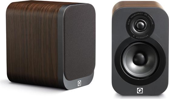 Ηχείο ΡαφιούQ-Acoustics3010 Walnut Ζεύγος